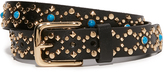 Rebecca Minkoff Flat Strap Belt with Studs