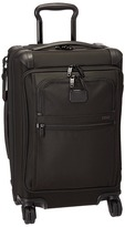 Tumi Alpha 2 - Front Lid International Carry-On Carry on Luggage