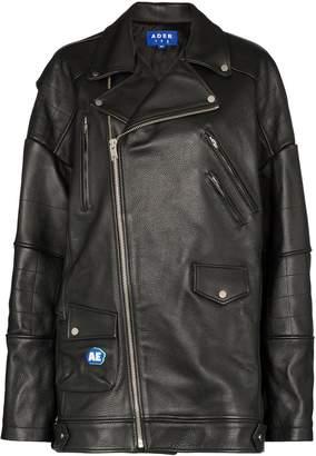 Ader Error oversized biker jacket
