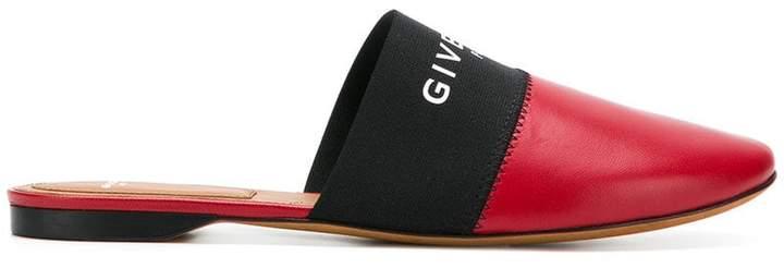 Givenchy logo mules