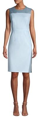 HUGO BOSS Doreli Virgin Wool Sheath Dress