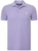Polo Ralph Lauren Performance Fit Polo Shirt, Bali Purple