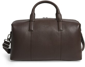 Ted Baker Bagtron Leather Duffle Bag