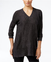 Style&Co. Style & Co. V-Neck Long-Sleeve Tunic, Only at Macy's