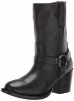 Thumbnail for your product : Mark Nason Los Angeles womens Mid-High Harness Boot Black 6 us medium