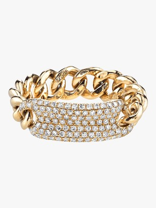 Shay Jewelry Essential Pave ID Link Ring