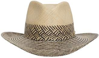 Borsalino QUITO LARGE WEAVE STRAW PANAMA HAT