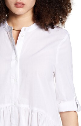 Only Chicago Roll Tab Shirtdress
