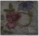 Faliero Sarti Wool Scarf With Floral Pattern