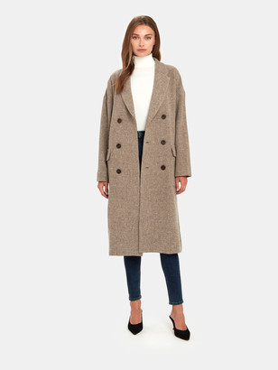 Moussy Double Breasted Chester Coat