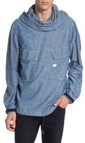 G Star Men's Chambray Hooded Jacket