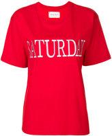 Alberta Ferretti Saturday embroidered T-shirt