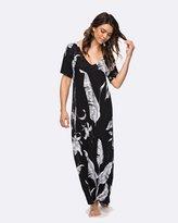 Roxy Womens Strappy Love Long Dress