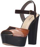 Nine West Women's Calliah Suede Platform Dress Sandal