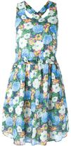 Carven sleeveless floral dress