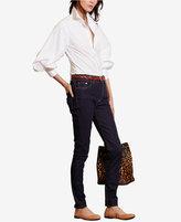 Lauren Ralph Lauren Bishop-Sleeve Shirt