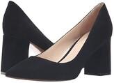 Marc Fisher Zala Pump (Black Suede) Women's Shoes