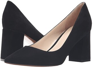Marc Fisher Zala Pump (Black Suede) Women's Shoes