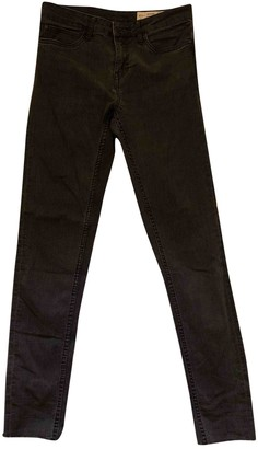 Heidi Klein Black Cotton - elasthane Jeans for Women