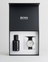 HUGO BOSS BOSS By Watch & Fragrance Gift Set