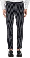 Thom Browne Men's Shadow-Striped Wool-Blend Skinny Trousers