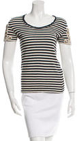 Tory Burch Embellished T-Shirt Top54