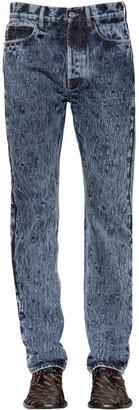Balenciaga Stone Washed Cotton Denim Jeans