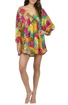 Volcom Women's Hot Tropic Print Caftan