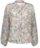 Louise Misha Mimi Floral Silk Blouse - Women's Collection
