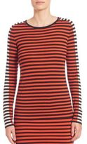 Akris Punto Tricolor Striped Knit