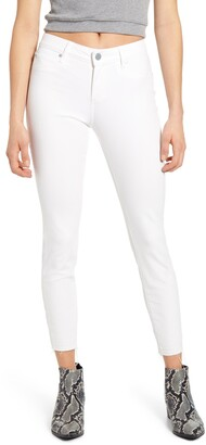 Articles of Society Carly Raw Crop Hem Skinny Jeans