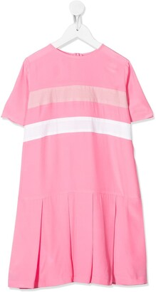 Marni colour blocked T-shirt dress