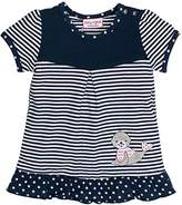Salt&Pepper SALT AND PEPPER Baby Girls' BG Tunic Stripes T-Shirt