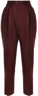 AKIRA NAKA Tapered Cropped Trousers