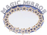 Magic Mirror Rhinestone Stars Clutch