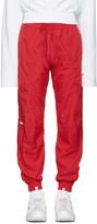 Vetements Red Reebok Edition Biker Track Pants