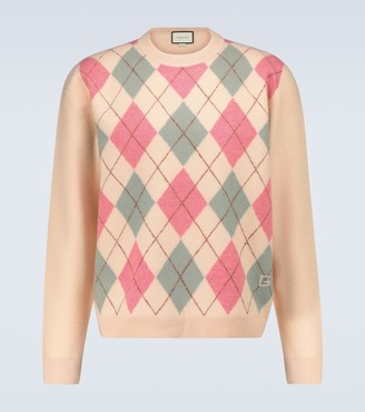 Gucci Long-sleeved crewneck sweater