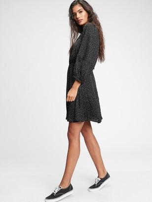 Gap Blouson Sleeve Mini Dress