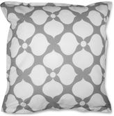 Jonathan Adler Grey Hollywood Euro Sham, Set of 2