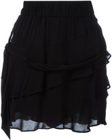 IRO tiered ruffle skirt