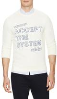 Commune De Paris Accept Cotton Sweatshirt