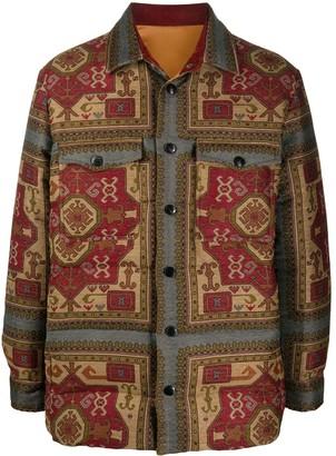 Etro Paisley Print Shirt Jacket