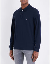 Tommy Hilfiger Luxury cotton-piqué polo shirt