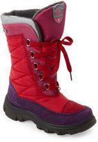 Naturino Toddler Girls) Red & Purple Galiber Rainstep Waterproof Boots