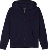 Ralph Lauren Zip-up cotton-blend hoody 6-14 years