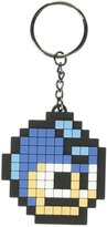 Megaman Keyring Keychain Pixel Head new Official gaming Rubber