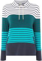 Barbour Tayport Striped Funnel Neck Sweatshirt