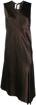 Ann Demeulemeester Asymmetric Slip Dress