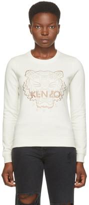 Kenzo Off-White Classic Tiger Sweatshirt