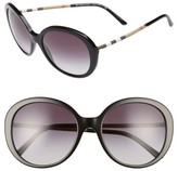 Burberry Women's 57Mm Sunglasses - Black